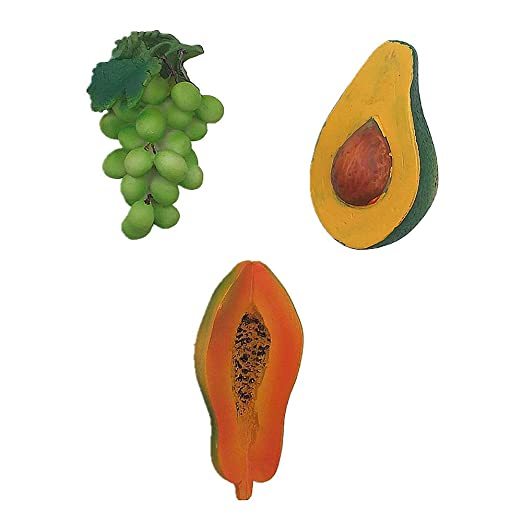 MUYU Magnet Imán para Nevera de Papaya con diseño de UVA de ...