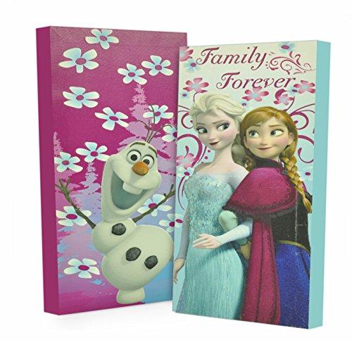 Disney Frozen Canvas Wall Pack