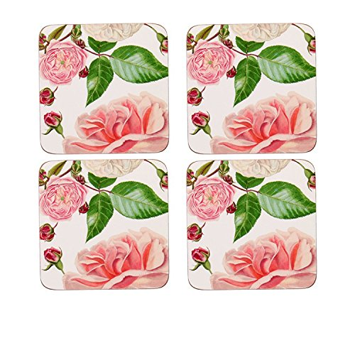 Rhs Rose - Ulster Weavers RHS Traditional Rose Corked Coaster Pack of 4