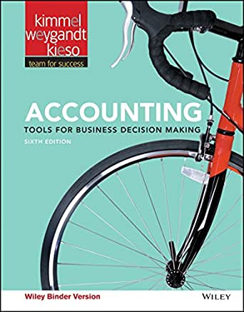 managerial accounting 6th edition kieso kimmel Solution manual to managerial accounting tools for business decision making 4th ed, weygandt, kimmel & kieso showing 1-1 of 1 messages.