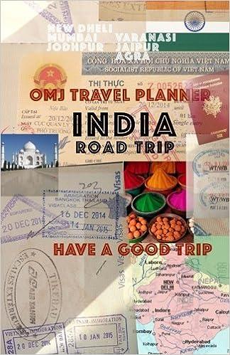 foto de India road trip: India travel planner: o m j: 9781512201543 ...