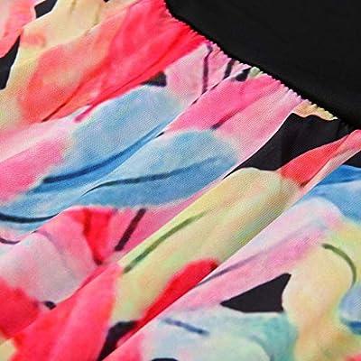 Wave166 Vestidos Mujer Verano,Vestidos de Playa sin Mangas Falda ...
