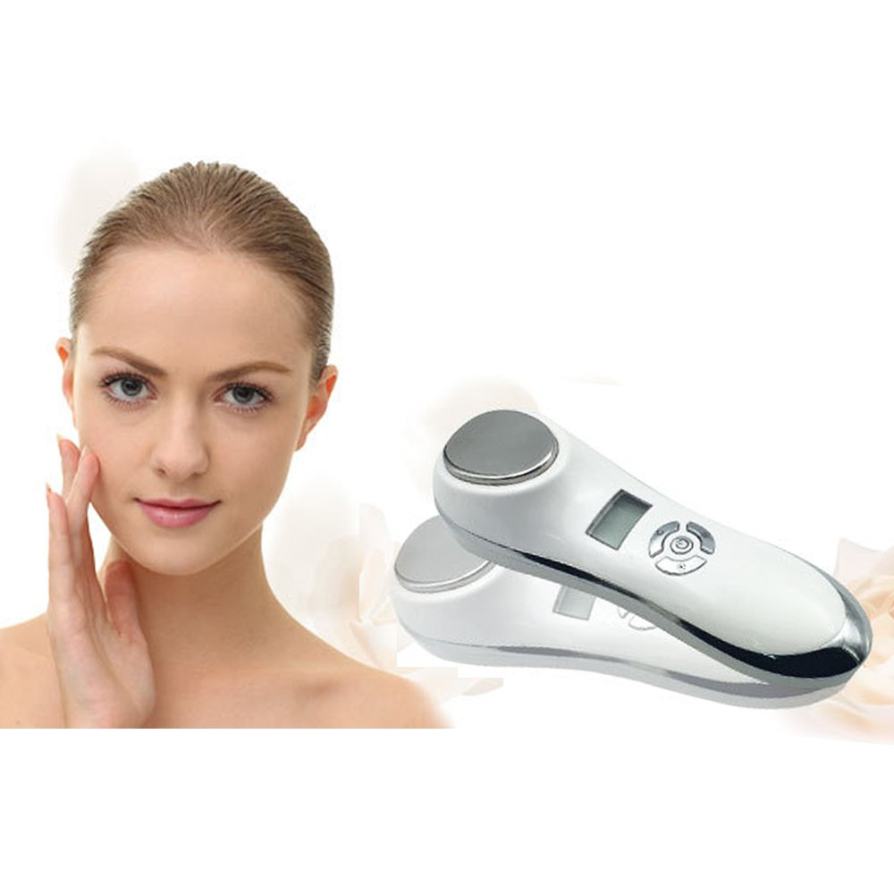 Alice'Facial Anti-Ageing Wrinkle Device 42° Warm or 6°Cool Massager with Sonic Vibration Kangmei
