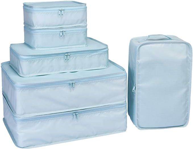 Amazon.com: Cubos JJ POWER de empacado para viajes. Bolsas ...