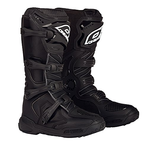 O'Neal Men's Element Boots (Black, Size 10)
