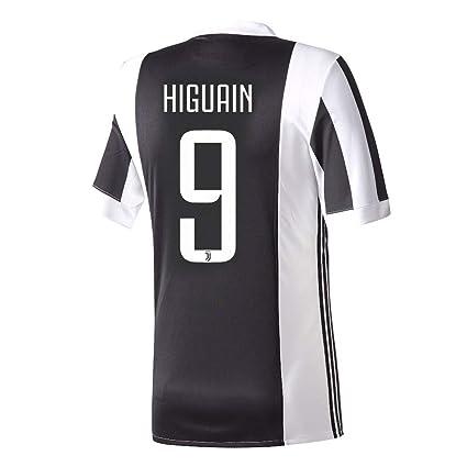 best website c46aa a5141 Amazon.com : Juventus Home Higuaín Jersey 2017 / 2018 ...