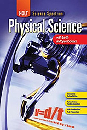 Holt Science Spectrum: Physical Science with Earth and Space Science: Chapter Resource File, Chapter 3: States of Matter Chapter 3: States of Matter