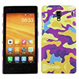 Heartly Army Style Retro Color Armor Hybrid Hard Bumper Back Case Cover For Xiaomi Miui Mi Redmi 1S - Yellow Field