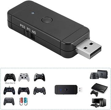Maikiki New Adaptador de Controlador inalámbrico para Xbox / PS3 ...