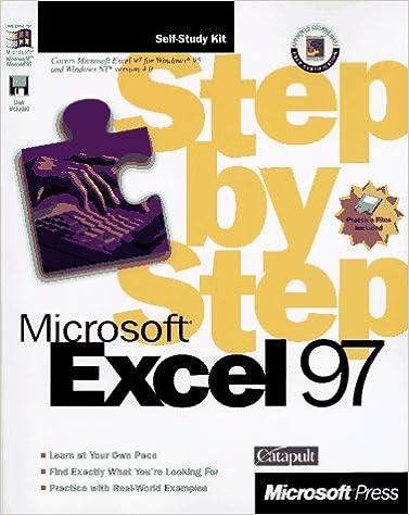Microsoft Excel 97 Step-By-Step (Step by Step (Microsoft ...