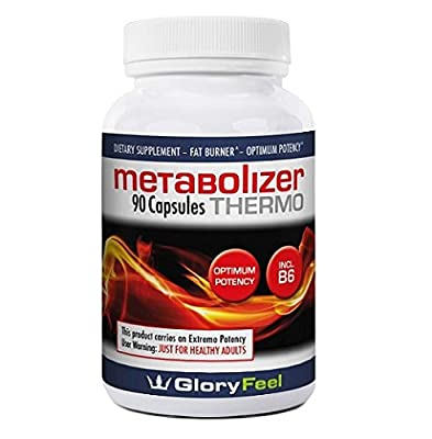 METABOLISM BOOSTER Thermogenic Fat Burner Weight Loss Pills Diet Pills with Green Tea Raspberry Keton to lose weight Vitamin B6 to Increase Energy 90 Capsules