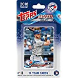 Toronto Blue Jays 2018 Topps Factory Sealed Special Edition 17 Card Team Set with Josh Donaldson and Troy Tulowitzki Plus