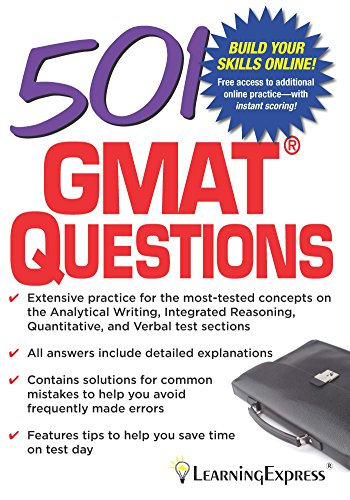 501 GMAT Questions (1st 2015) [LearningExpress]