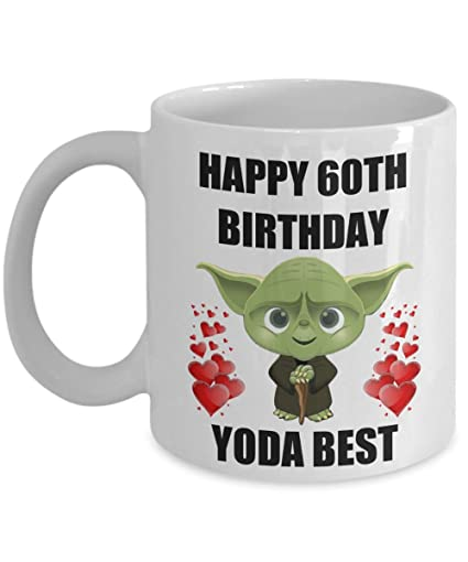 Image Unavailable Not Available For Color 60th Birthday Gifts Yoda Best Husband