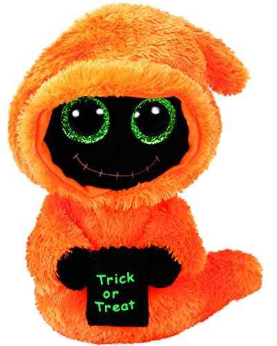 Ty Beanie Babies Boos 36854 Seeker Orange Reaper Halloween Boo (Halloween Stuffed Animals)