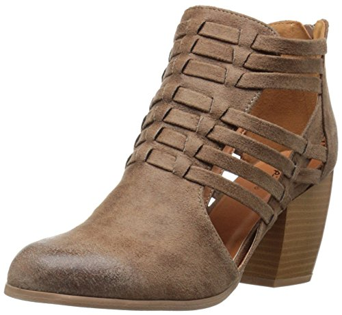 Qupid Women's Maze-93 Boot Taupe nbGhSXRbcO