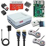 Vilros Raspberry Pi 3 Retro Arcade Gaming Kit with 2 Classic USB Gamepads