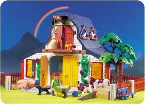 Playmobil 3072 Bauernhof Amazonde Spielzeug