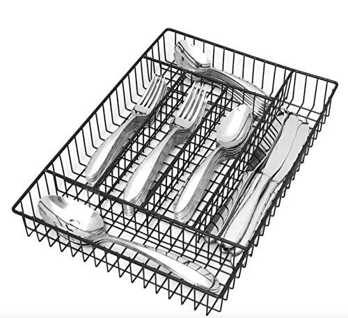 Oneida Landon 42-Piece Flatware Set, Service for 8 (Caddy Wire Flatware)