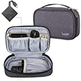 Luxja Carrying Case Compatible with Amazon Fire TV 4K, Storage Bag for Fire TV, Voice Remote and Other Accessories(Empty Case Only), Black