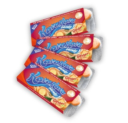 Kava Stress Relief Candy from Hawaii - Ginger Mint Flavor - 4 Pack