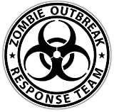 zombie response tire cover - 1 Pc Uppermost Fashionable Zombie Outbreak Response Team Sticker Sign Car Decal Auto RV Truck Size 4.5