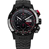 Watches : Edox Men's 01118 37NR NRO Chronorally 1 Analog Display Swiss Automatic Black Watch