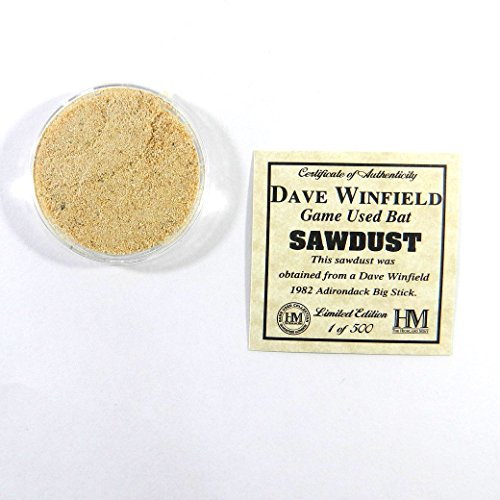 Highland Mint Dave Winfield Game Used Bat Sawdust Limited Edition 1 of 500