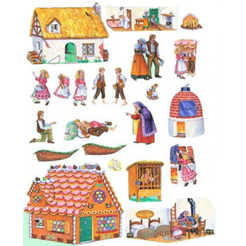 Hansel And Gretel Felt Figures For Flannel Board Stories Precut