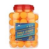 Ping Pong Ball, 60-Pack Premium 3-Star 40 mm Table Tennis Ball