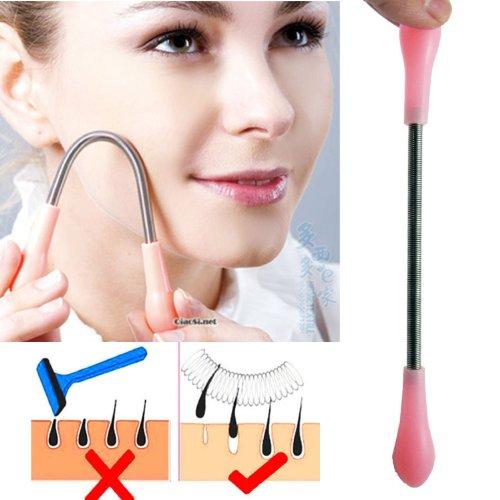 Facial Hair Remover de DizzyG pour les femmes - le meilleur outil pour Épilation du visage de la femme - Manuel épilateur Threading outil de beauté - Unique révolutionnaire Printemps-Action - efficace - Facile - abordable - rapide - Pratique - Coffre-fort