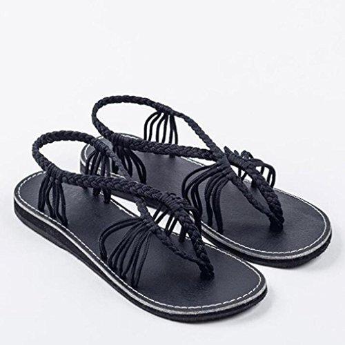 Tongs Sandales Noir 41 43 Noir Pantoufles d'été 35 37 Chaussures Sandales Gris Pantoufles Mode Femmes 40 Chaussures Chaussures 38 Vin 42 Plates Escarpins Sangles Plage croisées Bleu 36 39 n4xprIwq4