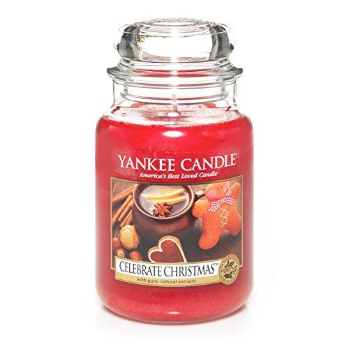 Yankee Candle Company Celebrate Christmas Large Jar Candle