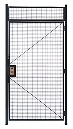 WireCrafters HD478RW RapidWire Welded Steel Wire Mesh Hinged Door with 1\u0027 High Transom Panel and  sc 1 st  Amazon.com & Amazon.com: WireCrafters HD478RW RapidWire Welded Steel Wire Mesh ...
