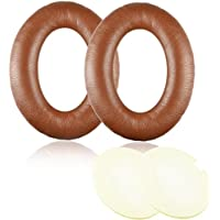 Coffee Brown Replacement Earpad Ear Pad Cushions for Bose Quietcomfort 2 QC2, Quietcomfort 15 QC15, Quietcomfort 25 QC25, AE2, AE2i , AE2w Headphone with ITIS Headphone Cable Clip