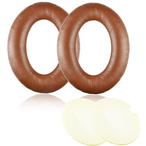 Synsen Replacement Ear pads Cushion Compatible For Bose QuietComfort QC2,QuietComfort QC15,QuietComfort QC25,QuietComfort QC35,AE2,AE2i,AE2w,SoundTrue, SoundLink (Around-Ear) Headphones-Coffee Brown