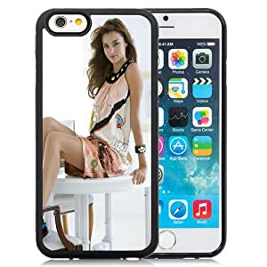 New Fashion Custom Designed Skin Case For iPhone 6 4.7 Inch TPU Phone Case With Miranda Kerr Sweet Phone Case Cover