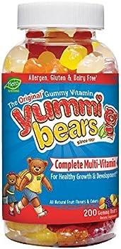 Yummi Bears Multi-Vitamin & Mineral 200-Count Gummy Bears