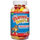 Yummi Bears Multi-Vitamin & Mineral, 200-Count Gummy Bears