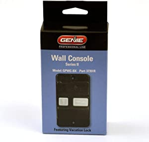 Genie Series II Intellicode Wall Console
