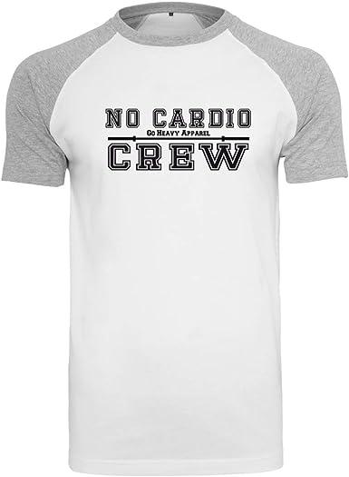 GO HEAVY Camiseta de Entrenamiento de béisbol para Hombre No Cardio Crew: Amazon.es: Ropa y accesorios