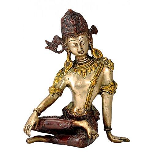Gangesindia King of Heaven Lord Indra Dev Brass Statue