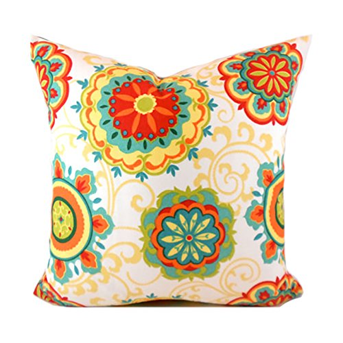 Outdoor Decorative Throw Pillow Cover Any Size OD Farrington Pizazz