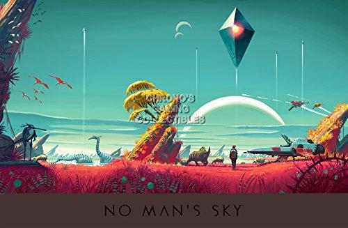 "Price comparison product image CGC Huge Poster - No Man's Sky PS4 - EXT381 (16"" x 24"" (41cm x 61cm))"