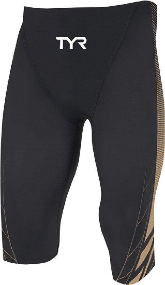 Schwarz Goldfarben 30 TYR AP12 Competitor Speed Hi Shorts