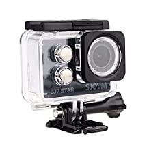 "SJCAM SJ7 STAR 4K 12MP 2"" Touch Screen Metal Body Slow Motion Gyro Action Camera BLACK + CHARGER + 1 EXTRA BATTERY"