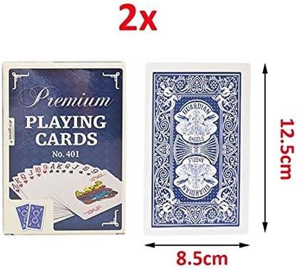 GHMOZ Jumbo Cartas De Juego Grandes Y Grandes Cartas Grandes Póker Grande 2/4/9 Veces Cartas De Póker Juegos De Mesa De Mesa-4 Tamaños Disponibles (Color : B, Size : 2X): Amazon.es: Hogar