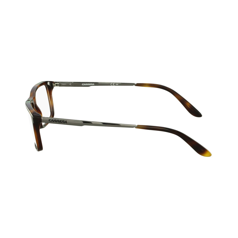 e8368f22cb Carrera CA9914 Medium (Size-55) Dark Havana Matte FTT Unisex Eyeglasses   Amazon.in  Clothing   Accessories
