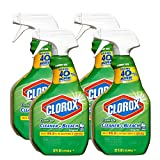 Clorox Clean-up Cleaner with Bleach Spray Original Scent Trigger Spray, 32 FL oz (Pack of 4)