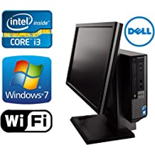 DELL Optiplex 790 USFF All in One Desktop Computer - New 1TB HDD - Intel i3 3.1Ghz - 8GB of Memory - Windows 7 Pro - With 19'' Monitor - Refurbished
